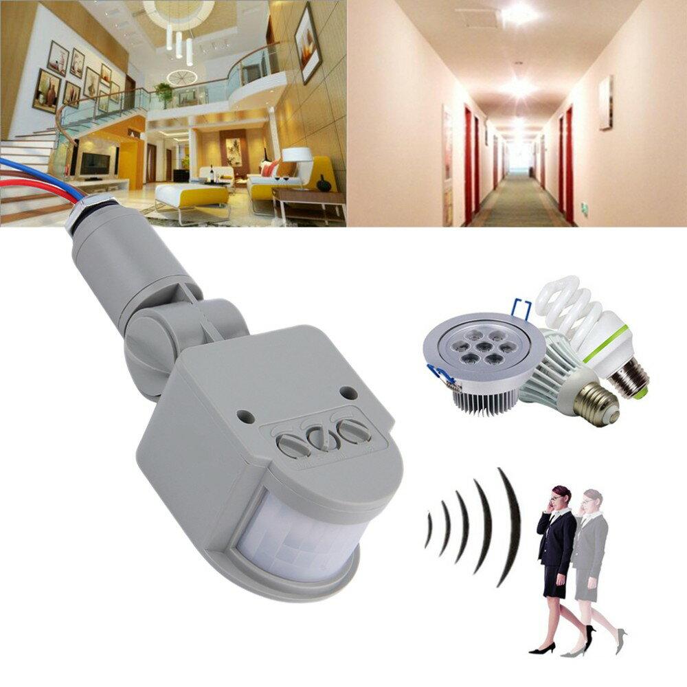 『LED紅外線感應燈』光、AC、220V、自動感應器