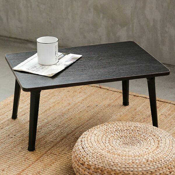 JP Kagu 日式木質和室圓角折疊桌 / 茶几 / 矮桌60x40cm(4色) 0