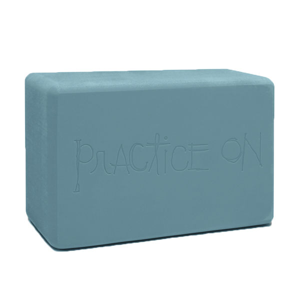 Manduka Recycled Foam Block 環保瑜珈磚 - 冰原藍