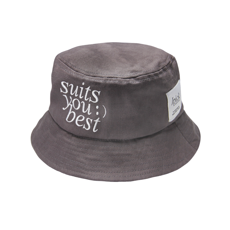 Jpick suits漁夫帽鐵灰色