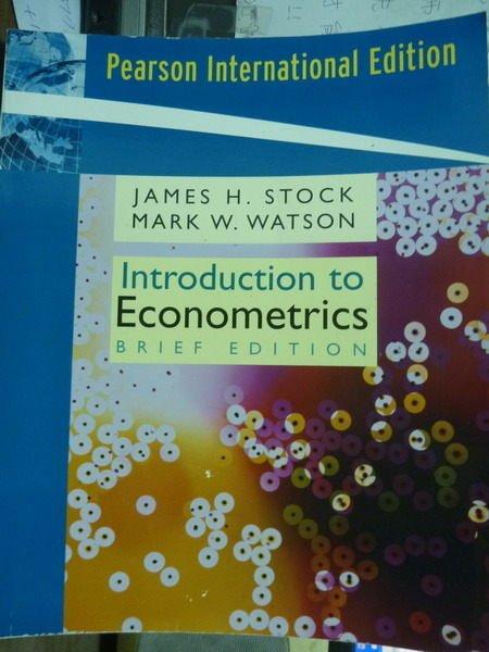 【書寶二手書T1/大學商學_QKW】Introduction to Econometrics_Stock