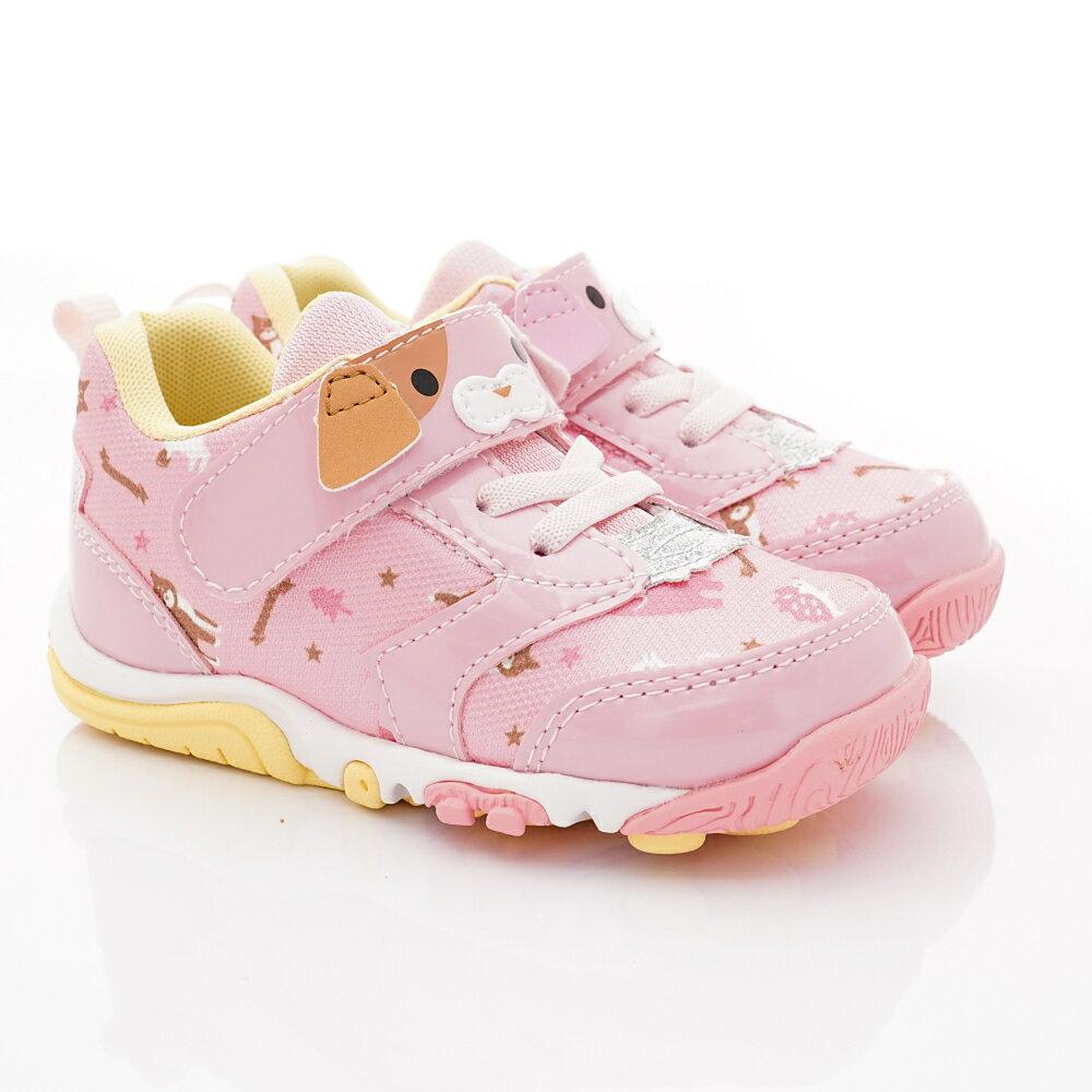 日本Carrot 速乾機能鞋款 CRC22614 粉(中小童段) 1