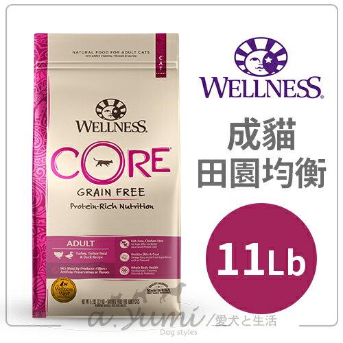 Wellness-Core無穀系列-成貓-田園均衡11磅貓飼料