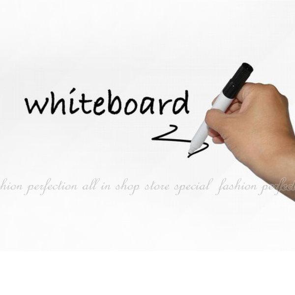白板貼45CMx200CM送水筆一隻 白板 牆貼 兒童塗鴉 教學 培訓 辦公 軟白板【DZ301B】◎123便利屋◎