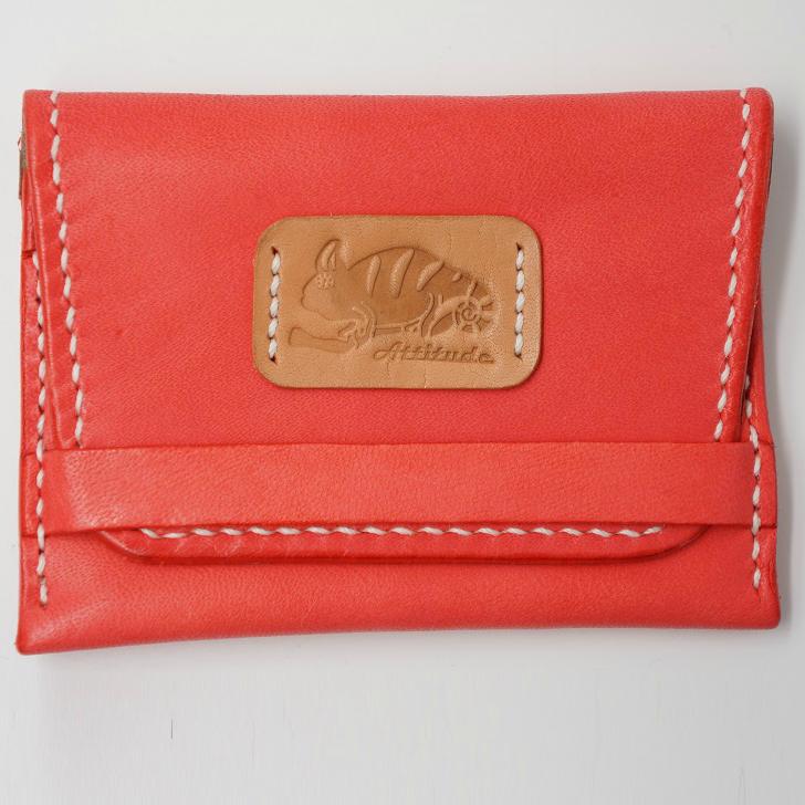 皮革卡夾名片夾(變色龍系列)  紅色/黑色 二色可選 0