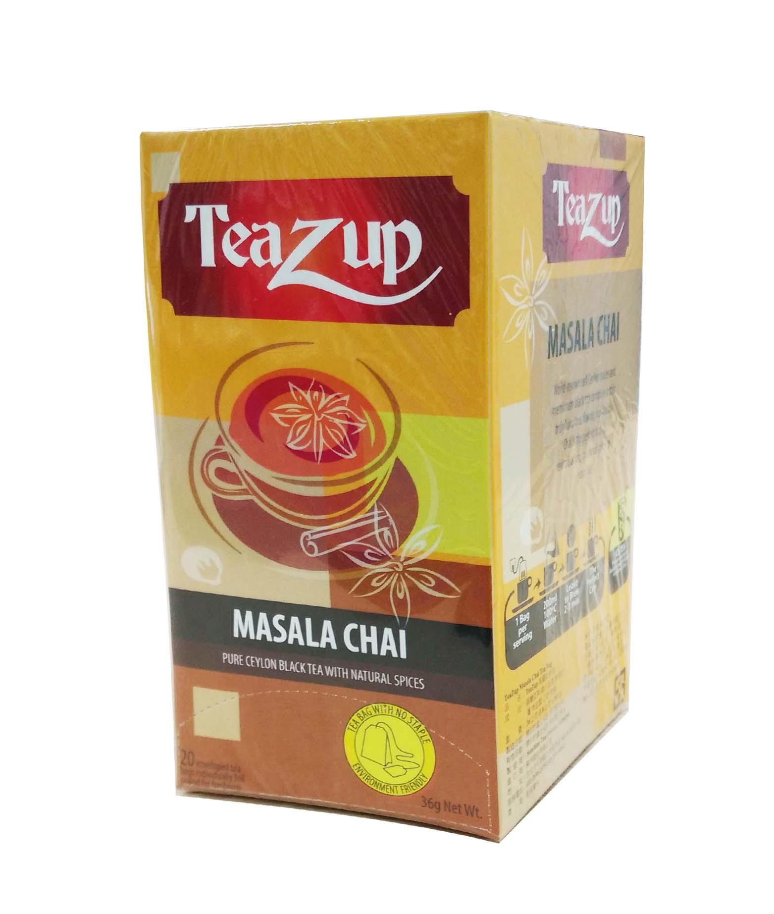 TeaZup Masala Chai Tea Bag  TeaZup馬薩拉茶包