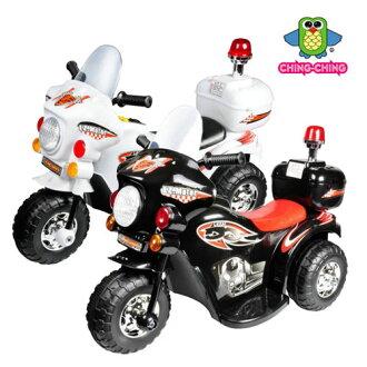 親親 皇家警察摩托電動車 (白色、黑色) RT-991【德芳保健藥妝】學步車.滑步車.玩具車.助步車