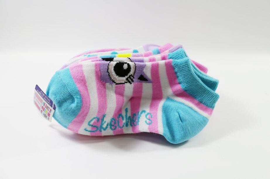 SKECHERS 女童短襪 S106101-115 (一組6雙) [陽光樂活]