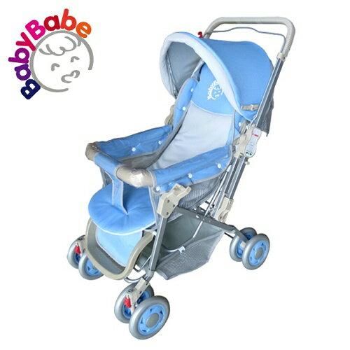【BabyBabe】雙向手推車/藍 B309_B