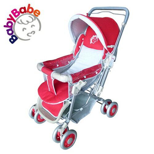 【BabyBabe】雙向手推車/紅