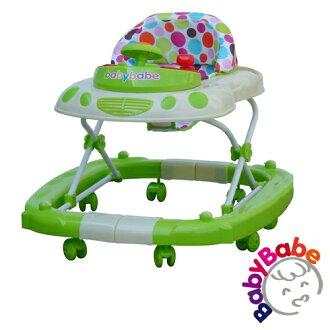 【BabyBabe】多功能汽車嬰幼兒學步車-綠