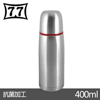 【日本77】Actiue24真空不鏽鋼保溫魔法瓶400CC(紅)