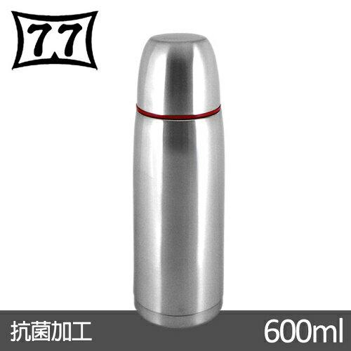 【日本77】Actiue24真空不鏽鋼保溫魔法瓶600CC(紅)(004-SL-600S_RD)