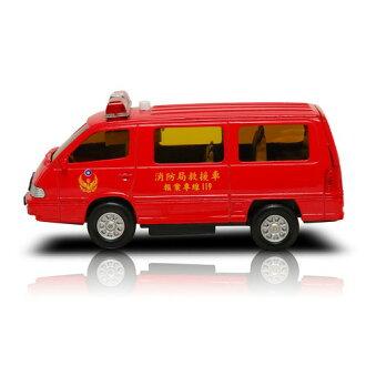 《PlayGame》生活系列迴力車-紅色救援車CT-353