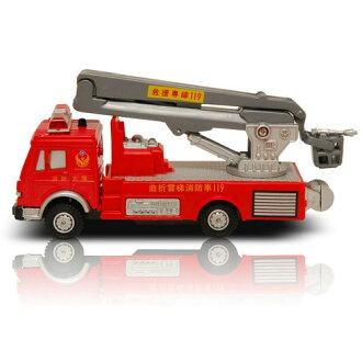 《PlayGame》生活系列迴力車-雲梯消防車CT-790-2