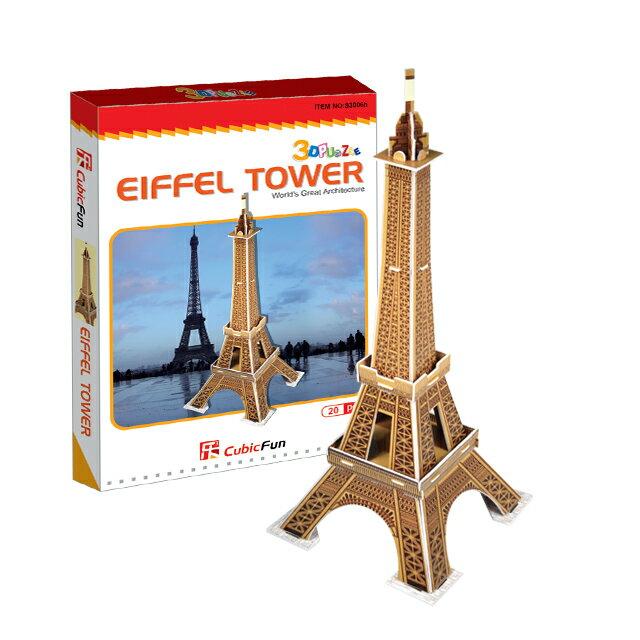 【3D Puzzle】迷你建築系列-迷你艾菲爾鐵塔