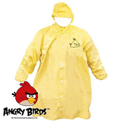 ^~Waterproof^~ 憤怒鳥全開式PVC兒童雨衣^(亮黃^)^(221752YL^