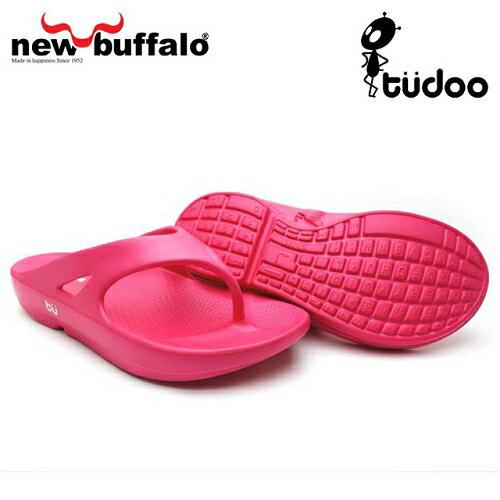 【new buffalo】土豆星球tudoo動態平衡人字拖-瑞德號/桃