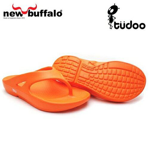 【new buffalo】土豆星球tudoo動態平衡人字拖-歐林居號/橘