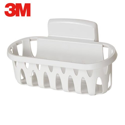 A0713《3M》無痕衛浴收納-置物籃