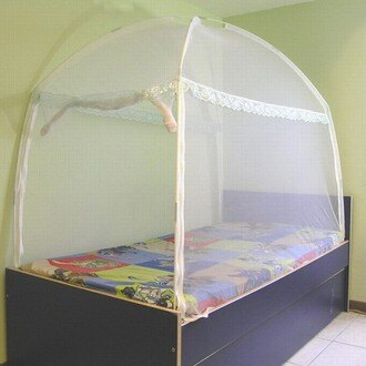 〔威克爾〕三門蒙古包式蚊帳/3.5X6.2單人床專用(A0553_M04)