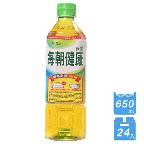<br/><br/>  A0759【御茶園】每朝健康綠茶650ml-24入<br/><br/>