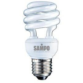 A0768~SAMPO~聲寶12W螺旋省電燈泡~白光 LB~U12SD