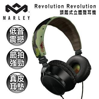 ★送托特包★Marley Revolution Revolution 頭戴式立體聲耳機(迷彩/無線控)(EAR-MAR-JH020RV)