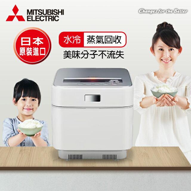 【三菱MITSUBISHI】日本原裝6人份蒸氣回收IH電子鍋/晶燦白(NJ-EXSA10JT/NJ-EXSA10JT_W)