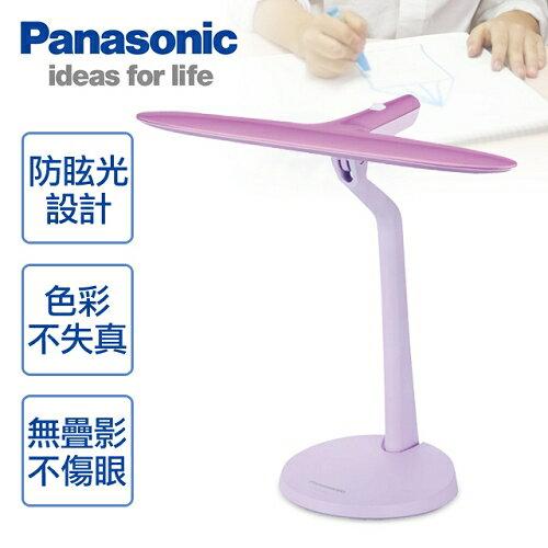 【Panasonic國際牌】LED兒童專用護眼檯燈/粉紅SQ-LD210-V