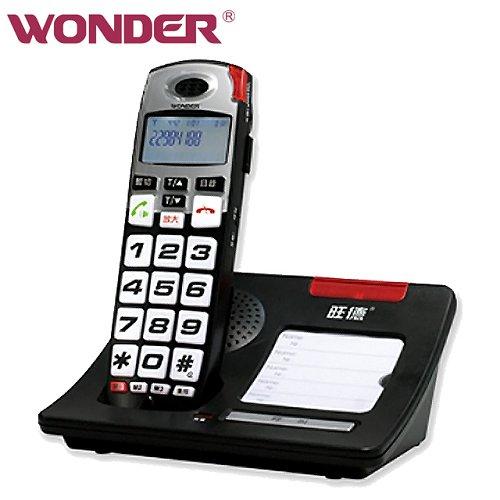 《旺德》大字鍵增音DECT數位式無線電話 WD-7101D