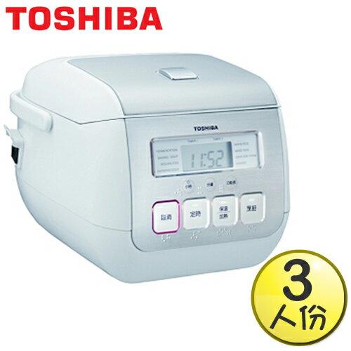 【TOSHIBA東芝】3人份微電腦厚釜電子鍋 RC-5MSGM