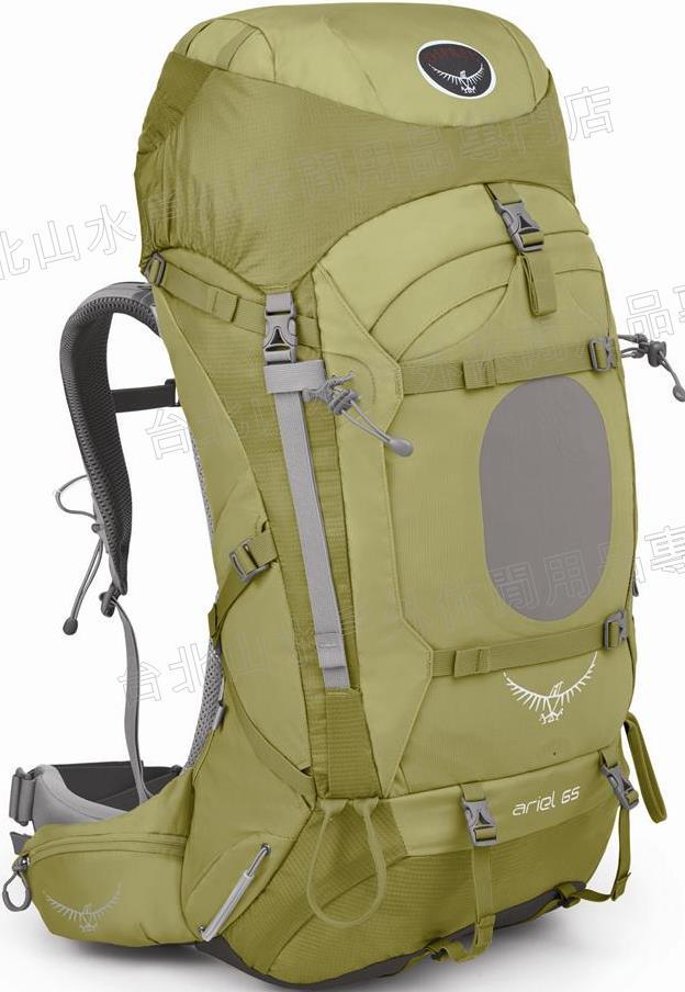 [ Osprey ] Ariel 65 精靈 專業登山健行後背包 女 小麥棕