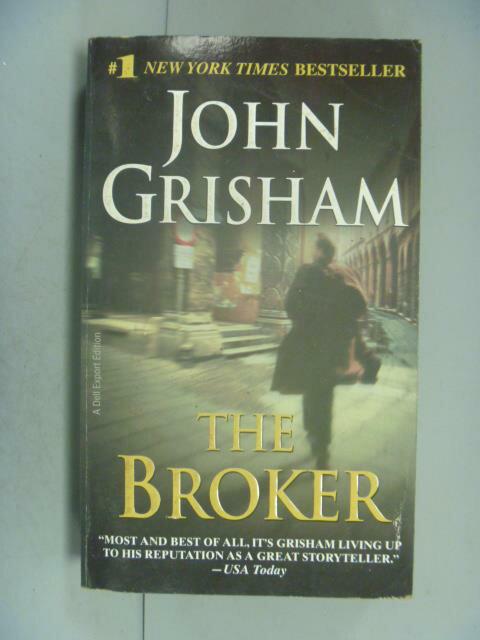 【書寶 書T7/原文小說_LEF】THE BROKER_John Grisham