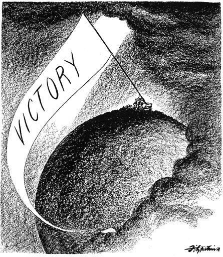 Cartoon Vj Day 1945 NJourneyS End American Cartoon On The Japanese Surrender The Previous Day And Consequent End Of World War Ii Cartoon By DR Fitzpatrick 15 August 1945 Rolled Canvas Art - (18 x 24) 80b8b43455ce0ee1056fabdb6d40558f