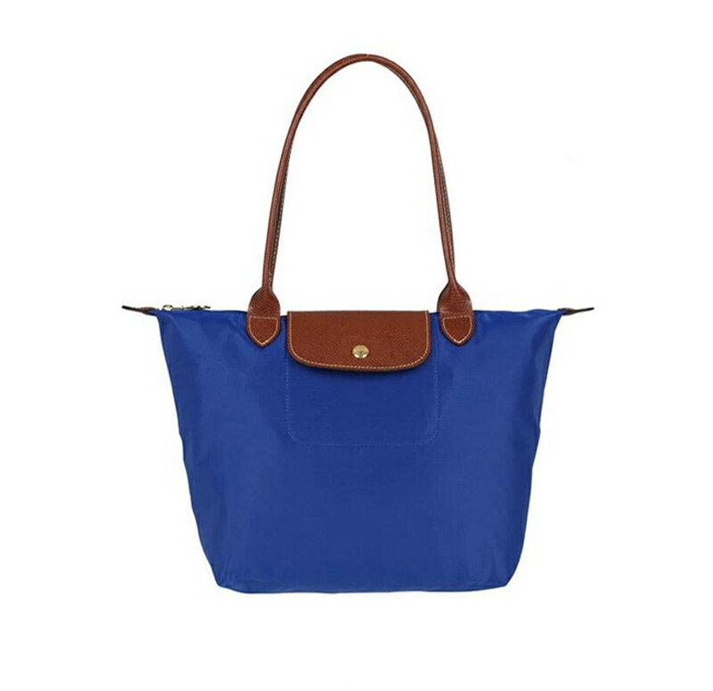 Longchamp   2605 098 556 新款女性包時尚潮流可折疊水餃包中號長柄餃子包 1