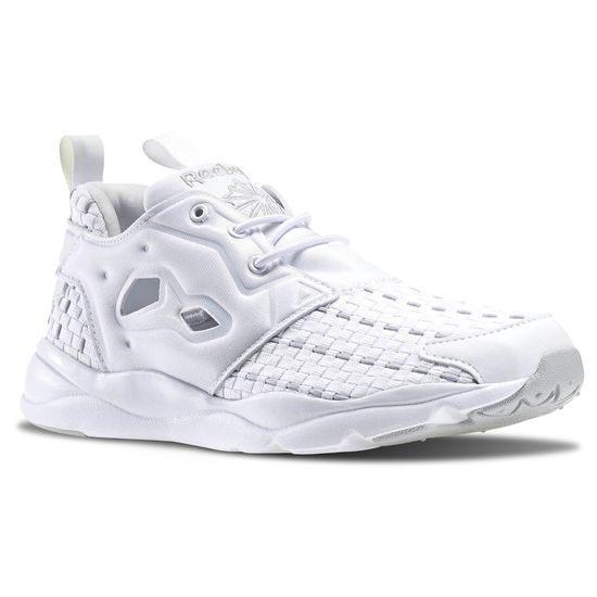 《限時特價↘7折免運》Reebok Furylite NEW WOVEN 女鞋 慢跑鞋 復古 編織 白色 【運動世界】 V70797