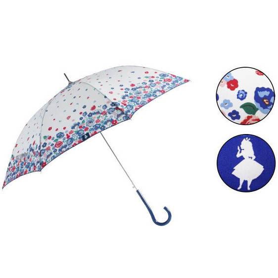 日本 迪士尼 Disney 長傘/晴雨傘 60cm 愛麗絲 Alice
