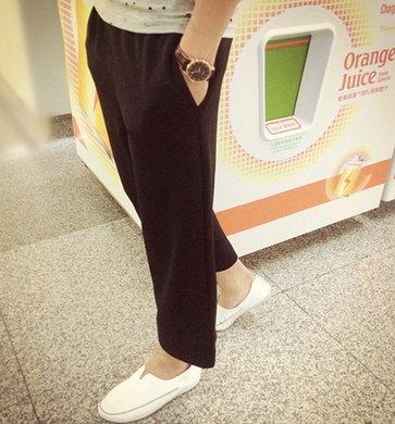 韓國 闊腿褲 寬鬆 寬褲 大寬腳 復古 文青
