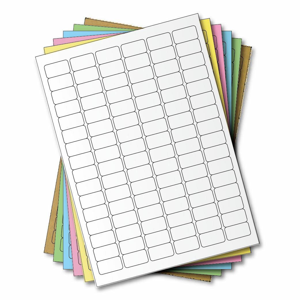 西瓜籽 龍德 三用電腦標籤貼紙 96格 LD-859-W-A 白色 105張(盒)