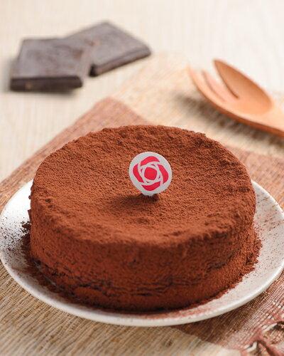 【波納爾舒芙蕾】古典巧克力蛋糕-6吋
