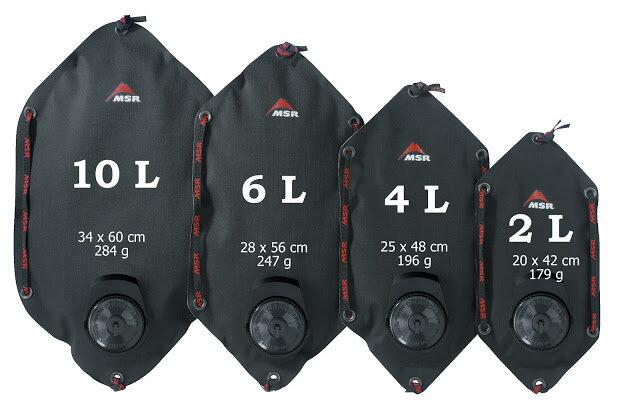 ├登山樂┤美國 MSR Dromedary? Bags Cordura強化型水袋 黑 6L #57058