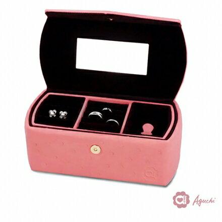 【Aguchi 亞古奇】英倫情人-甜蜜粉 珠寶盒(氣質貴族系列) ☆手工精品時尚設計珠寶盒 / 耳環盒☆ 1