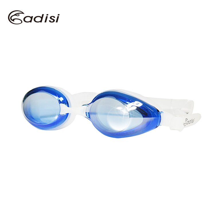 ADISI 舒適平光鍍膜泳鏡 AS16051 / 城市綠洲(可拆式.防霧.抗紫外線)