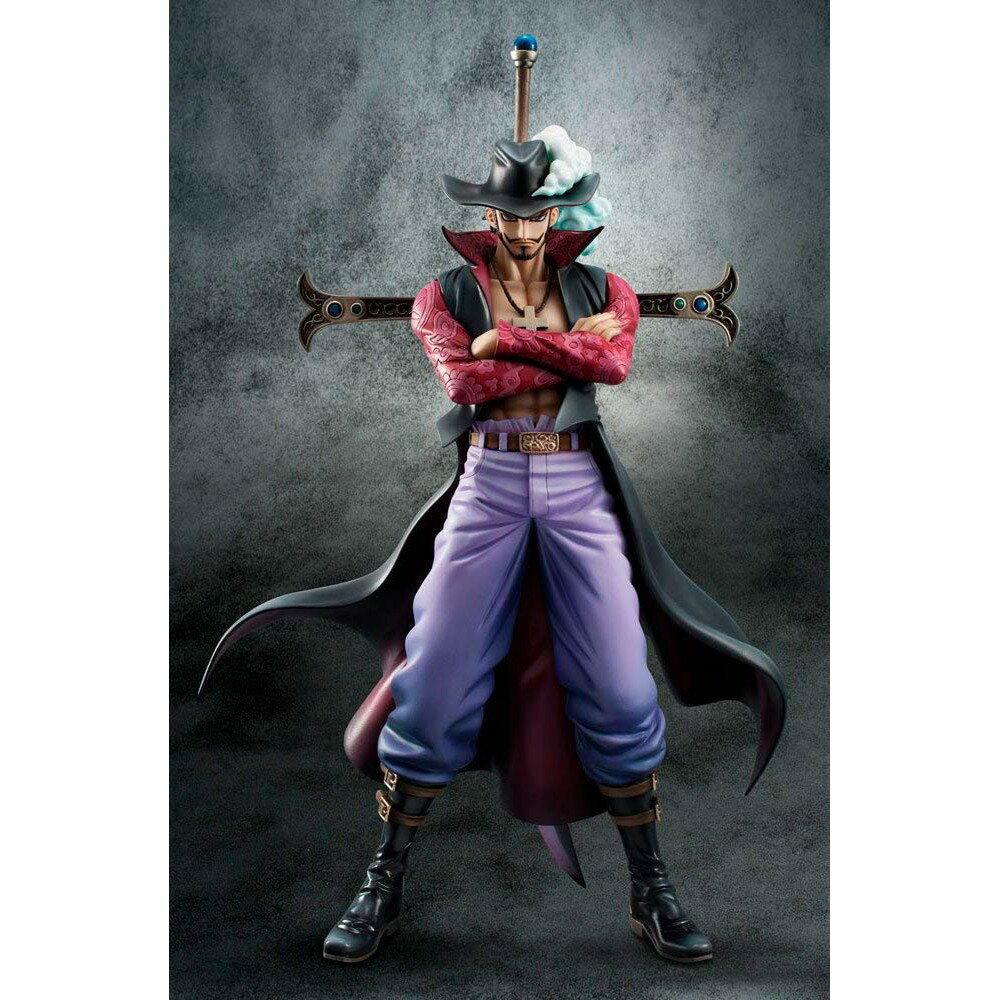 【預購】日本進口金證 海賊王 王下 七武海 鷹眼 密佛格 POP P.O.P DX 海賊王 航海王【星野日本玩具】