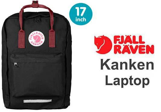 瑞典 FJALLRAVEN KANKEN  laptop 17inch 550-326黑/公牛紅 小狐狸包 1