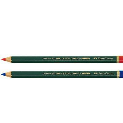德國輝柏 Faber-Castell 117521 / 117551 大六角記號筆 色鉛筆 劃記筆 重點筆 單支入