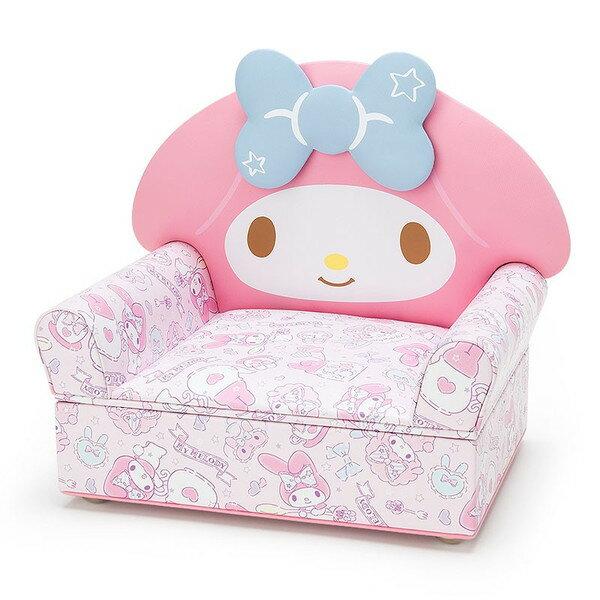 【真愛日本】17052500055 沙發飾品盒-MM掀蓋AAQ 三麗鷗家族 Melody 美樂蒂 飾品盒 收納盒