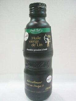 法國艾米爾諾耶~亞麻仁油250ml/罐(玻璃烤漆瓶)