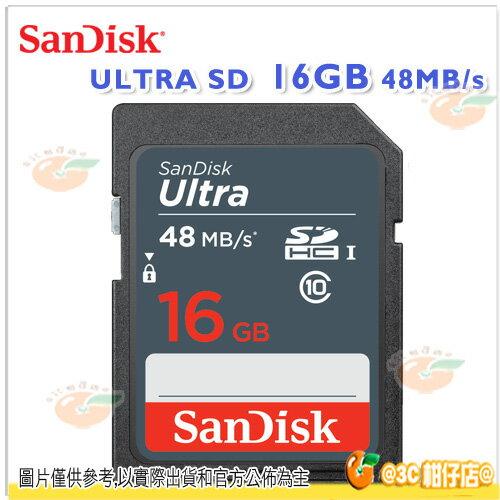 SanDisk Ultra SDHC 16G 16GB 48MB 48M 記憶卡 貨